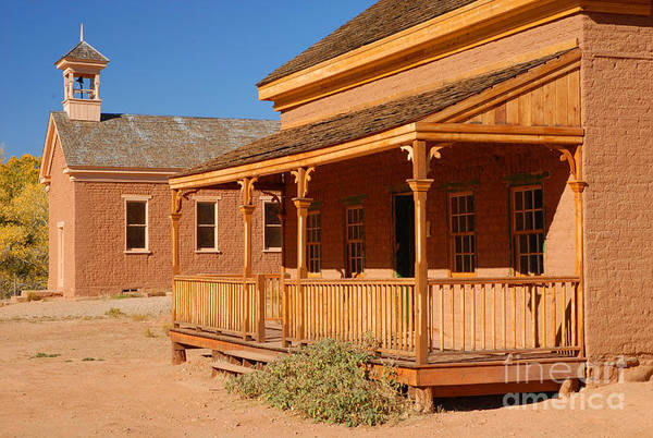 Grafton Art Print featuring the photograph Grafton Ghost Town by Dennis Hammer