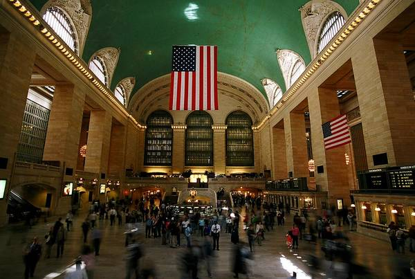 Grand Central Station Art Print featuring the photograph Grand Central Station by Caroline Clark