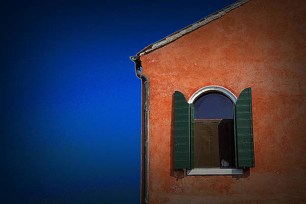 Travel Art Print featuring the photograph Green Shutters by James Zuffoletto