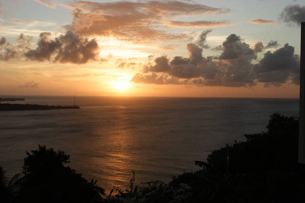 Grenada Art Print featuring the photograph Grenadian Sunset I by Jean Macaluso