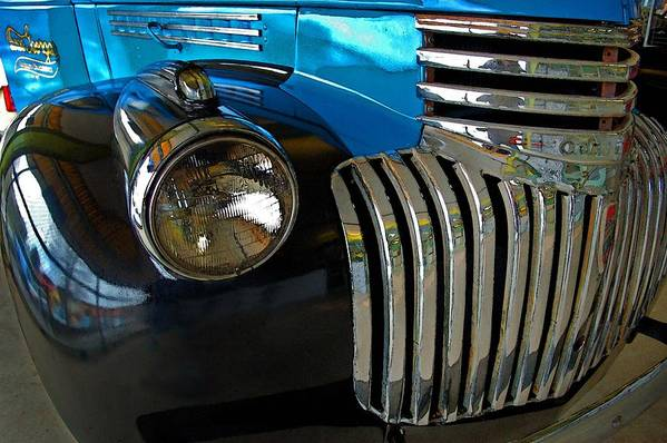 Car Art Print featuring the photograph Grill Work by Michael Thomas
