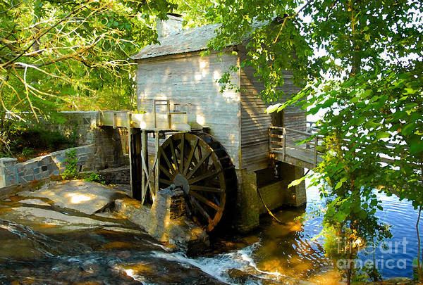 Grist Mill Art Print featuring the photograph Grist Mill by David Lee Thompson