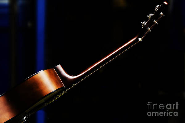 Guitar Art Print featuring the photograph Guitar by Sheila Smart Fine Art Photography