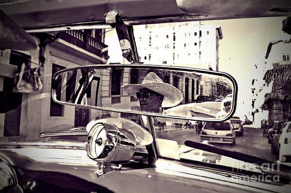 Havana Art Print featuring the photograph Havana Cuba Taxi by Chris Andruskiewicz