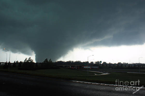 Tuscaloosa Tornado Print featuring the photograph Hell Unleashed by Rick Lipscomb