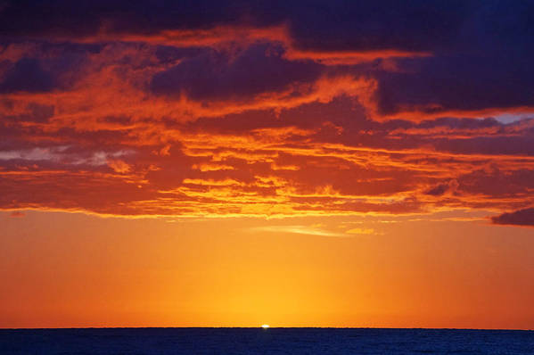 Sunrise Art Print featuring the photograph Here Comes The Sun by Lawrence S Richardson Jr