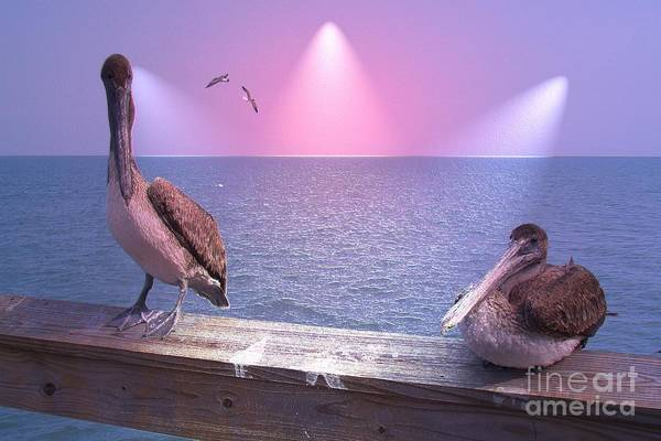 Birds Art Print featuring the photograph Hey Baby by Rana Adamchick