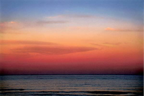 Landscape Art Print featuring the photograph Horizontal Number 1 by Sandra Gottlieb