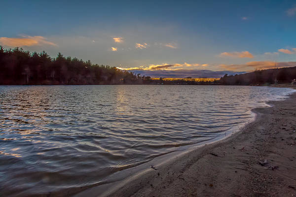 Sunset Art Print featuring the photograph Houghton's Pond Sunset by Brian MacLean
