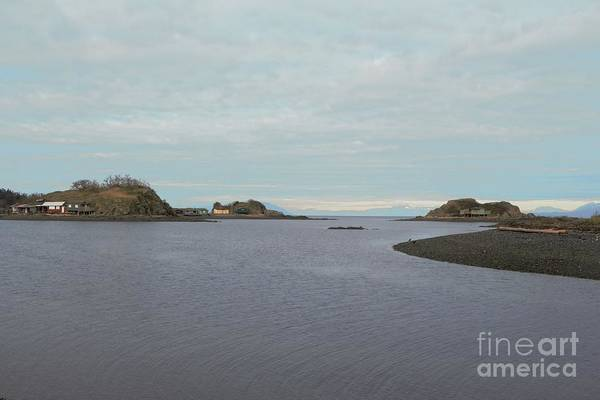 Ocean Art Print featuring the photograph House Islands by Victor K