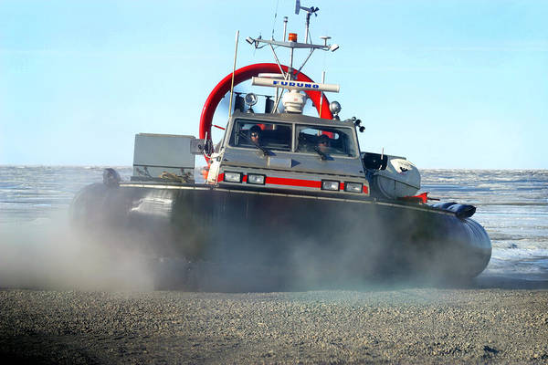 Hover Craft Print featuring the photograph Hover Craft by Anthony Jones