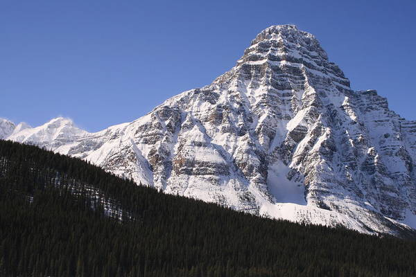 Rocky Mountains Art Print featuring the photograph I Love The Mountains Of Banff National Park by Tiffany Vest