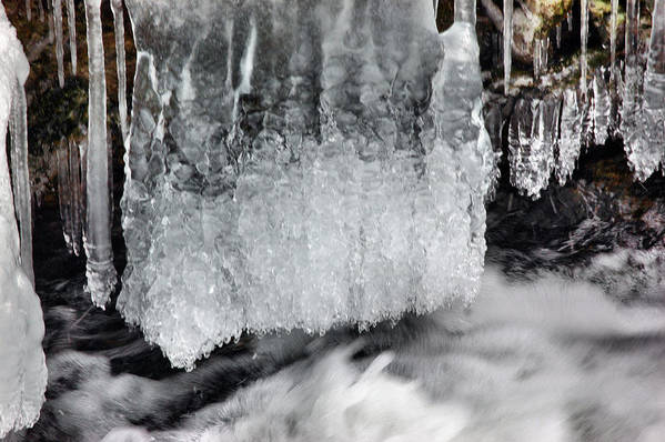 Rcouper Art Print featuring the photograph Ice 2 by Rick Couper