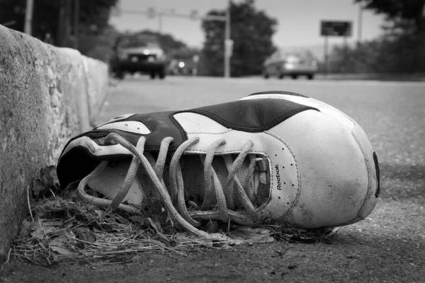 Shoes Art Print featuring the photograph Ignored by Kevin Brett