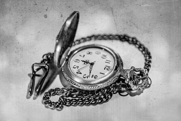 Watch Art Print featuring the photograph In Time by Martina Fagan