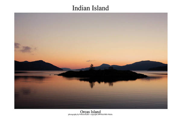 Harbor Canvas Prints Art Print featuring the photograph Indian Island by William Jones
