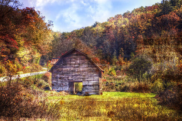 Appalachia Art Print featuring the photograph Indian Summer by Debra and Dave Vanderlaan