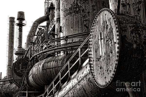 Bethlehem Art Print featuring the photograph Industrial Heritage by Olivier Le Queinec