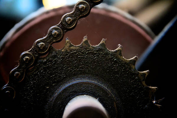 Machinery Art Print featuring the photograph Industrial Revolution by Odd Jeppesen