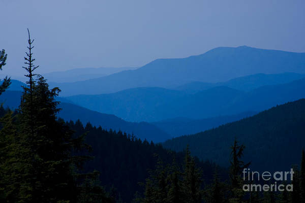 Mountain Art Print featuring the photograph Infinity by Idaho Scenic Images Linda Lantzy