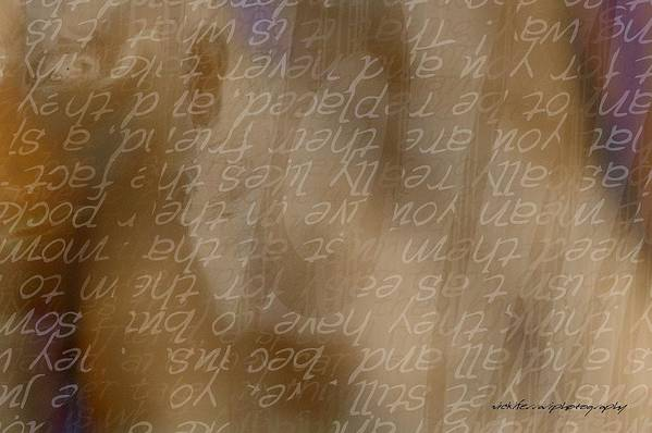 Implication Art Print featuring the digital art Insight by Vicki Ferrari
