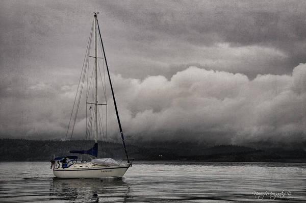 Sailboat Art Print featuring the photograph Irishmor by Nancy Morgantini
