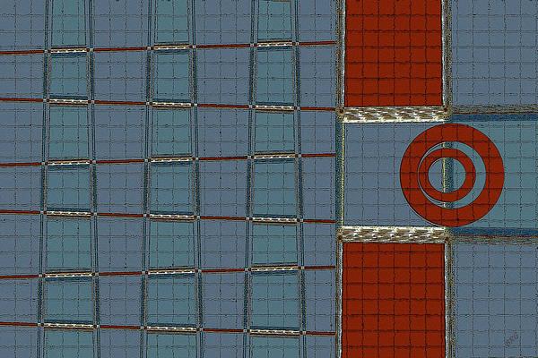 Geometric Abstract Art Print featuring the digital art Journey by Ben and Raisa Gertsberg