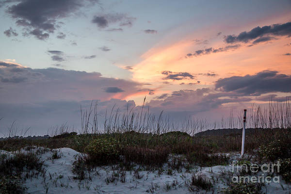 Sunset Art Print featuring the photograph Kiawah Island Sunset by Andy Miller