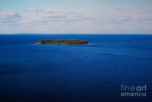 Photo Art Print featuring the photograph Know Man Is An Island by Marsha Heiken