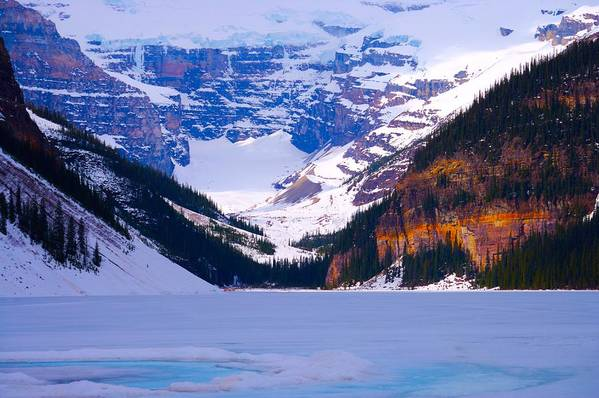 Lake Louise Art Print featuring the photograph Lake Louise by Paul Kloschinsky