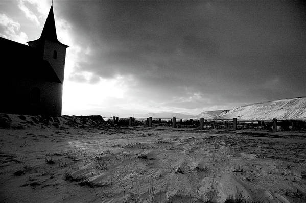 Iceland Art Print featuring the photograph Last.stop.before.dark by Jonelle Vette
