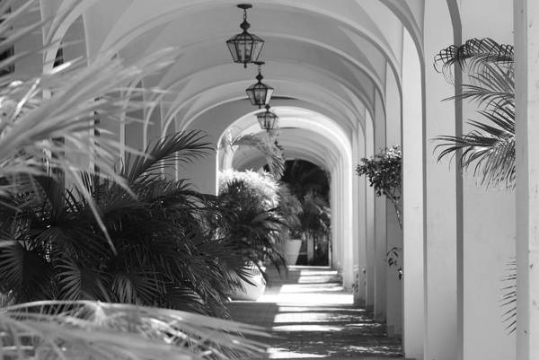 Architecture Art Print featuring the photograph Lighted Arches by Rob Hans