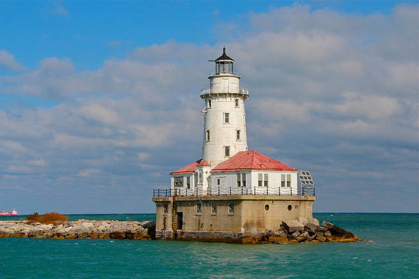Lighthouse Art Print featuring the photograph Lighthouse by Kimberli Green