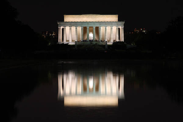 Washington Dc Art Print featuring the photograph Lincoln Memorial by Nancy Ingersoll