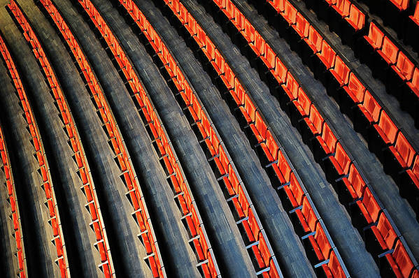Opera Art Print featuring the photograph Lines by Roman Rodionov