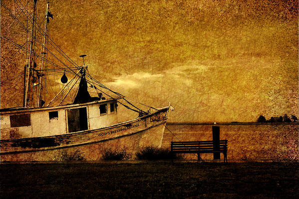 Nautical Art Print featuring the photograph Living In The Past by Susanne Van Hulst