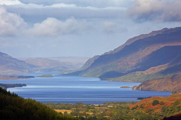 Scotland Art Print featuring the photograph Loch Maree In The Highlands Of Scotland by John McKinlay