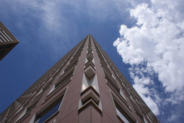 Architecture Art Print featuring the photograph Long Way Up by Brian Anderson