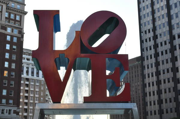 Philly Art Print featuring the photograph Love by Brynn Ditsche