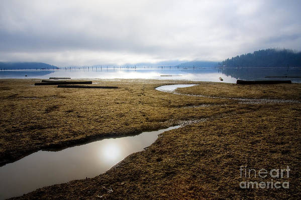 Wtaer Art Print featuring the photograph Low Water by Idaho Scenic Images Linda Lantzy