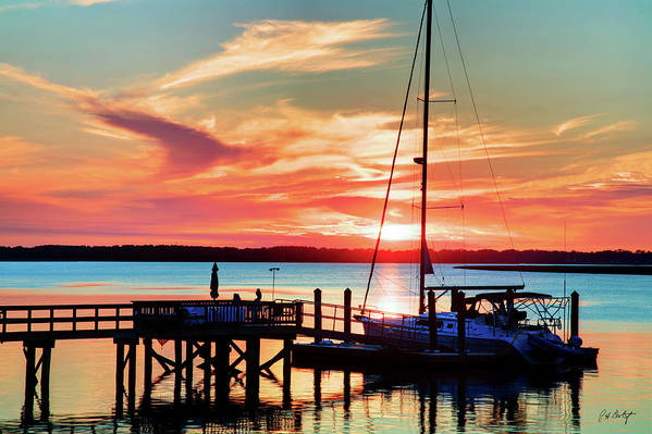 Boating Art Print featuring the photograph Lowcountry Leisure by Phill Doherty