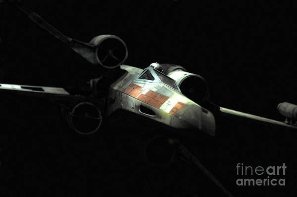 X-wing Art Print featuring the photograph Luke's Original X-wing by Micah May