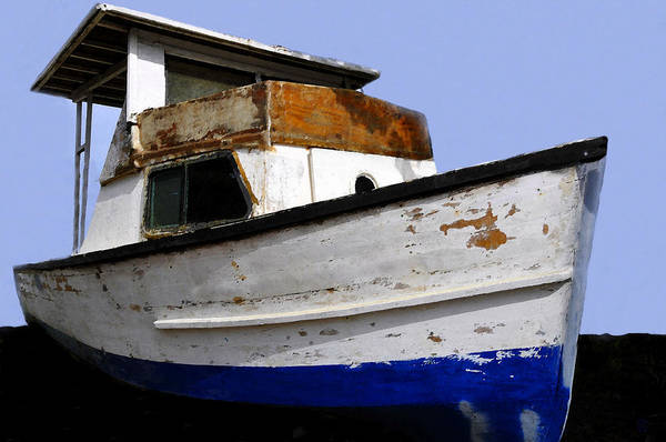 Boat Art Print featuring the painting Makeshift by David Lee Thompson