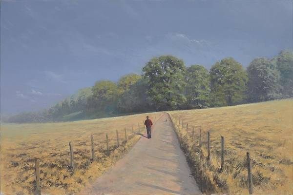 Landscape Art Print featuring the painting Mapledurham by Richard Picton