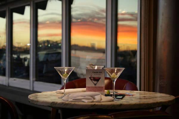 Martini Art Print featuring the photograph Martini At Sunset by Joshua Sunday