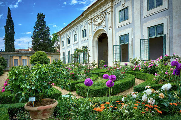 The Orangerie or Limonaia building and gardens in Florence