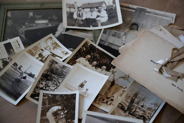 Letters Art Print featuring the photograph Memories by Kathy Flugrath Hicks