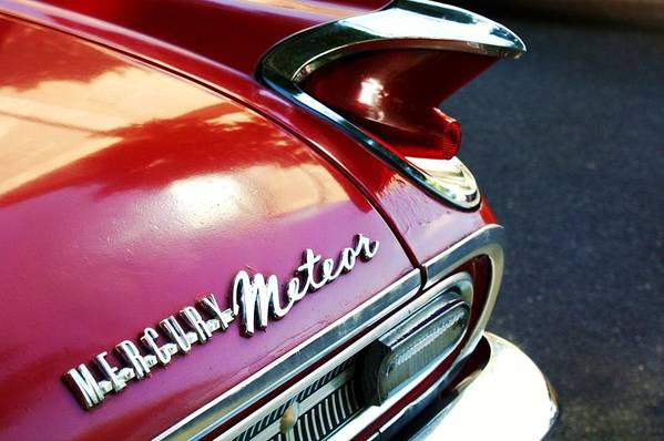 Mercury Meteor Art Print featuring the photograph Mercury Meteor by Cathie Tyler