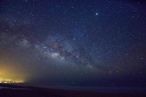 Art Print featuring the photograph Milky Way by Brittney Kane