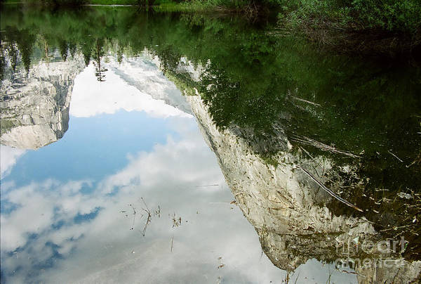 Mirror Lake Art Print featuring the photograph Mirrored by Kathy McClure